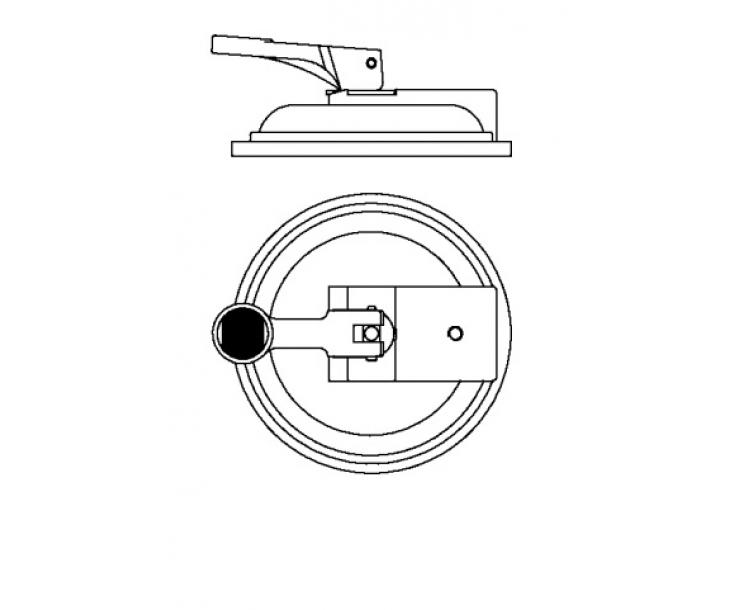 Вакуумный аспиратор Ø 120 мм для зажима PS 55 Bessey BE-3005774