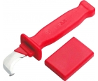 Нож VDE кабельный изогнутый с пяткой Cimco 120046