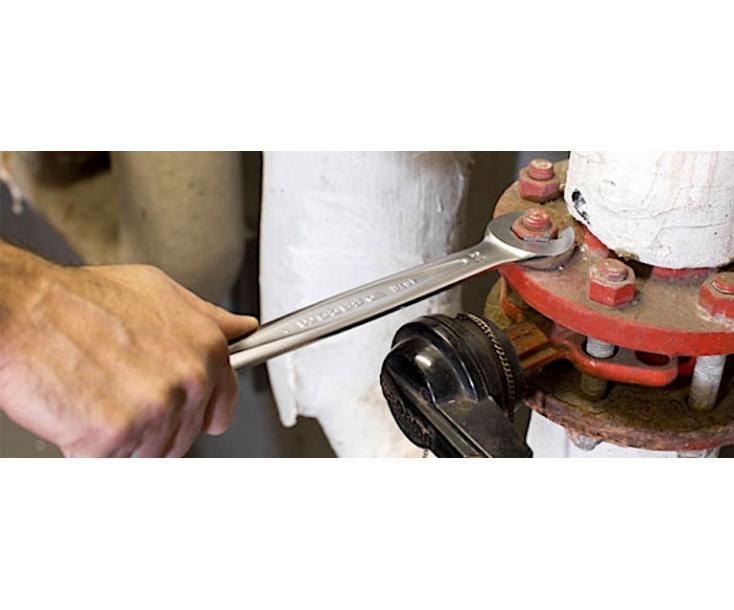 Ключ гаечный комбинированный быстрый с трещоткой 11 мм Facom 467BR.11