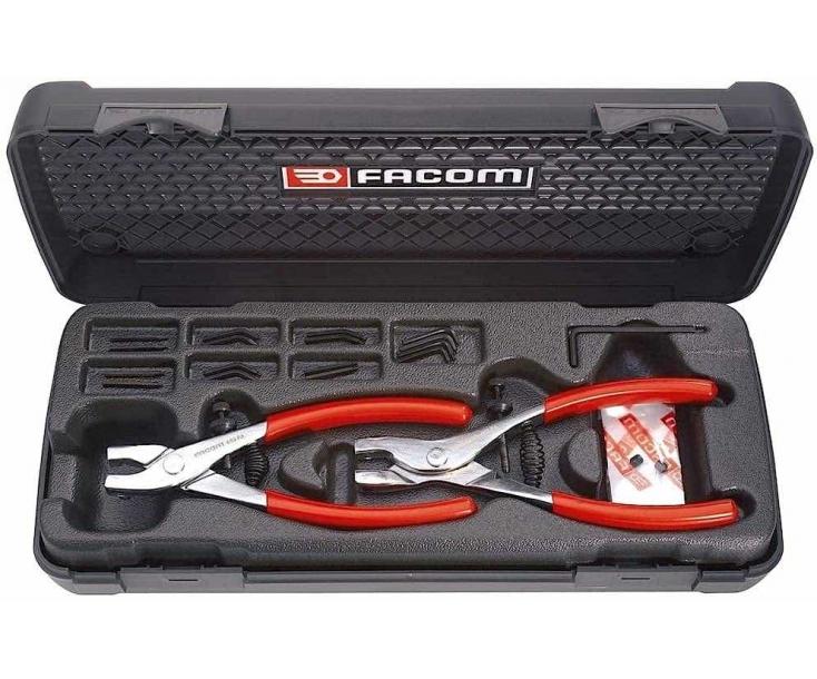 Набор щипцов для внешних и внутренних стопорных колец Facom 470 2 пр.