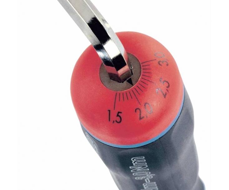 Набор с динамометр. отверткой 1.5-3,0 Нм и битами Felo SL PH PZ TORX TORX TR 13 предметов 10099216