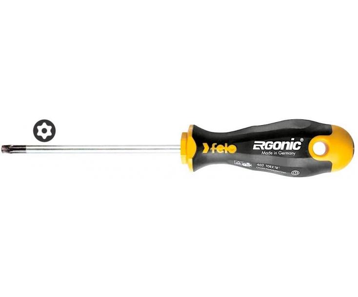 Отвертка Felo Ergonic серия 407 TORX TR TX10х100 40710340