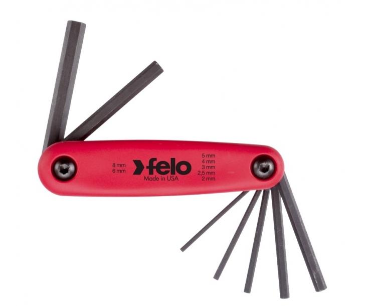 Набор штифтовых ключей раскладной HEX Felo 7 шт. 34500701