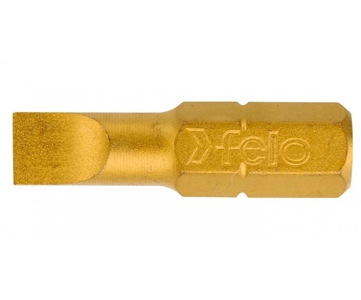 Бита Felo TIN серия 020 5,0 x 25 шлицевая 02050070