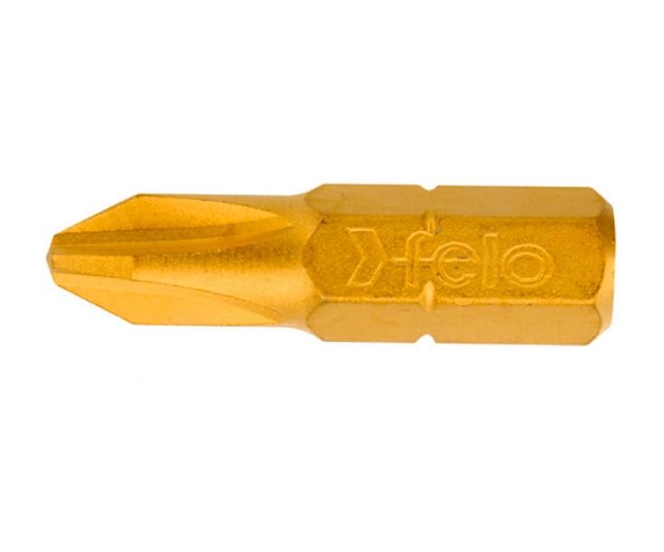 Бита Felo TIN серия 022 крестовая Phillips PH3 х 25 02203070