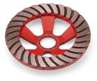 Алмазный тарельчатый шлифовальный круг 125x28x23,5 мм Flex Turbo-Jet 349623