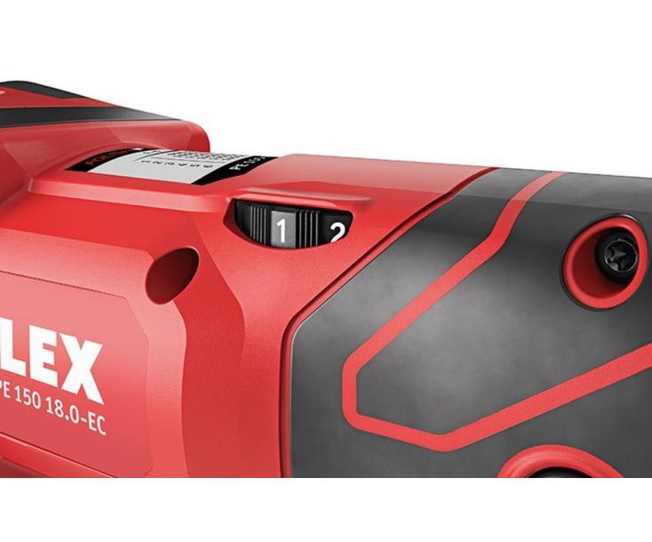 Аккумуляторная ротационная полировальная машина 18 В PE 150 18.0-EC C Flex 493856