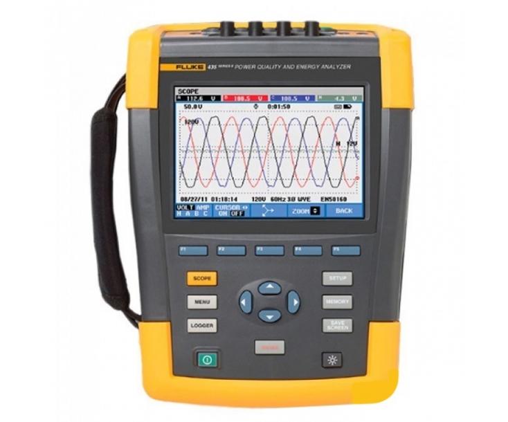 Анализатор качества электроэнергии цифровой Fluke 435 II/RU 4682262