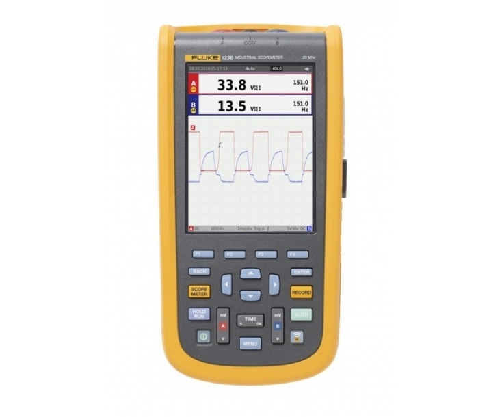 Осциллограф-мультиметр цифровой Fluke 123B/EU 4755659