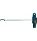 Отвертка-торцовый ключ удлиненный с Т-образной ручкой HEX Nut 14х350 мм Hazet 428LG-14