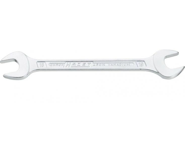 Ключ гаечный двусторонний рожковый 450N 20х22 мм Hazet 450N-20х22