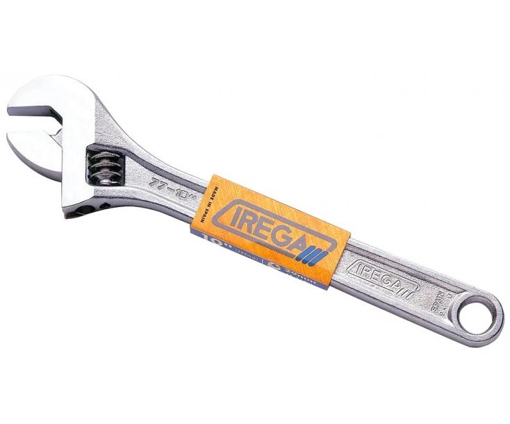Ключ гаечный разводной хромированный 62 мм Irega 77/CE-24