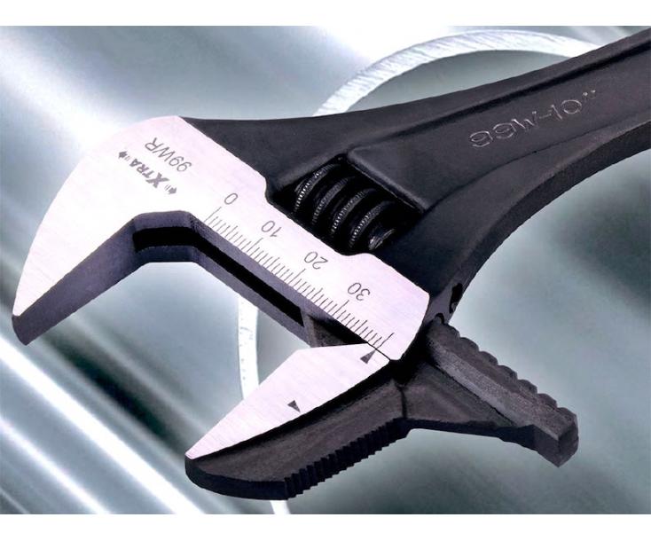 Ключ гаечный разводной со съемными губками фосфатированный 45 мм Irega 99WR-LT-F(CN-MM-P)/CE-12