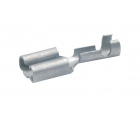 Гильза флажковая латунная 4,8x0,8 мм для провода 1,5-2,5 мм² Klauke KLK18303 100 шт.