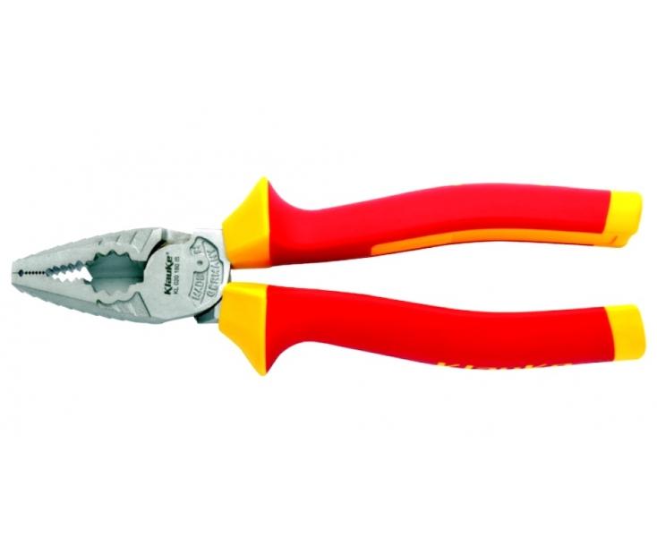Пассатижи комбинированные VDE 180 мм Klauke KLKKL020180IS