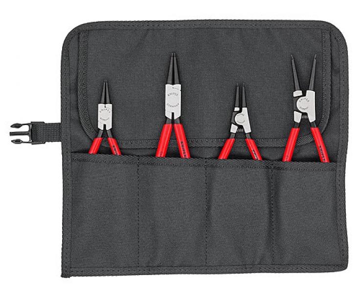 Набор щипцов для стопорных колец, 4 предмета Knipex KN-001956V01