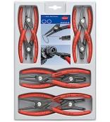 Набор прецизионных щипцов для стопорных колец Knipex KN-002004SB