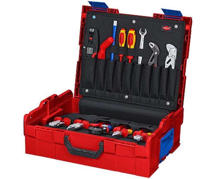 Комплект инструмента для электриков L-BOXX Elektro Knipex KN-002119LBE