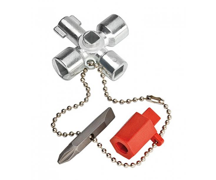 Ключ для распространенных электрошкафов и систем запирания Knipex KN-001102