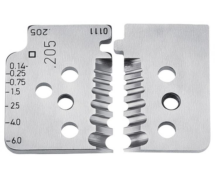 1 пара запасных ножей Knipex KN-121906