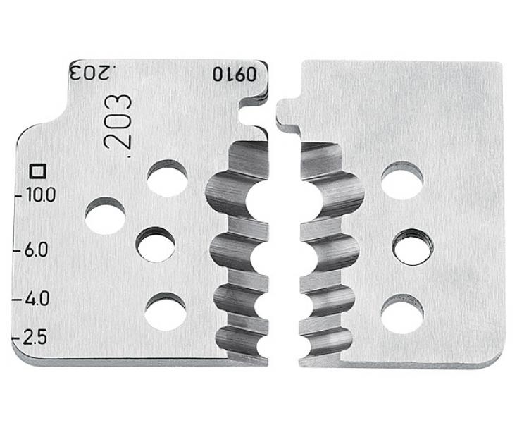 1 пара запасных ножей Knipex KN-121910