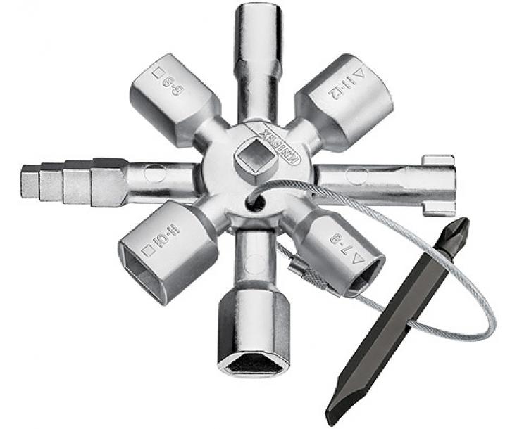 KNIPEX TwinKey для распространенных шкафов и систем запирания KN-001101