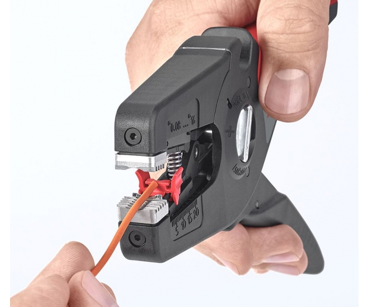 Автоматический стриппер PreciStrip16 с параболическими ножами Knipex KN-1252195