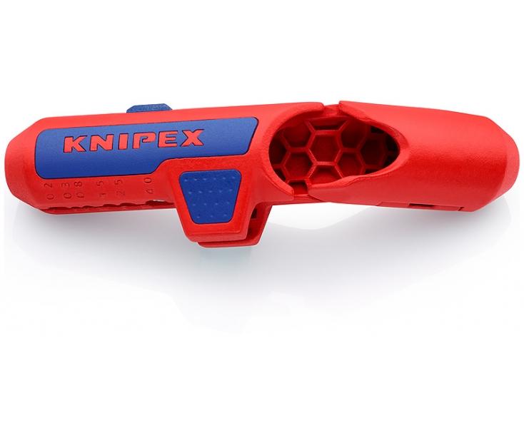 Универсальный инструмент для удаления оболочки KNIPEX ErgoStrip KN-169501SB