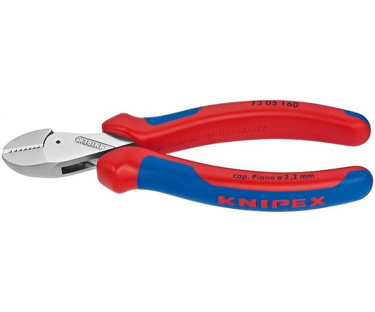 KNIPEX X-Cut компактные кусачки боковые с высокой передачей усилия KN-7305160
