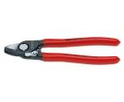 Ножницы для резки кабелей с раскрывающей пружиной Knipex KN-9521165