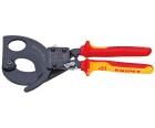 Ножницы для резки кабелей по принципу трещотки VDE Knipex KN-9536280