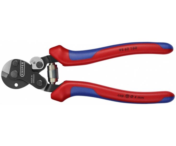 Ножницы для резки проволочных тросов кованые Knipex KN-9562160