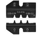 Плашка опрессовочная для штекера типа D-Sub Knipex KN-974924