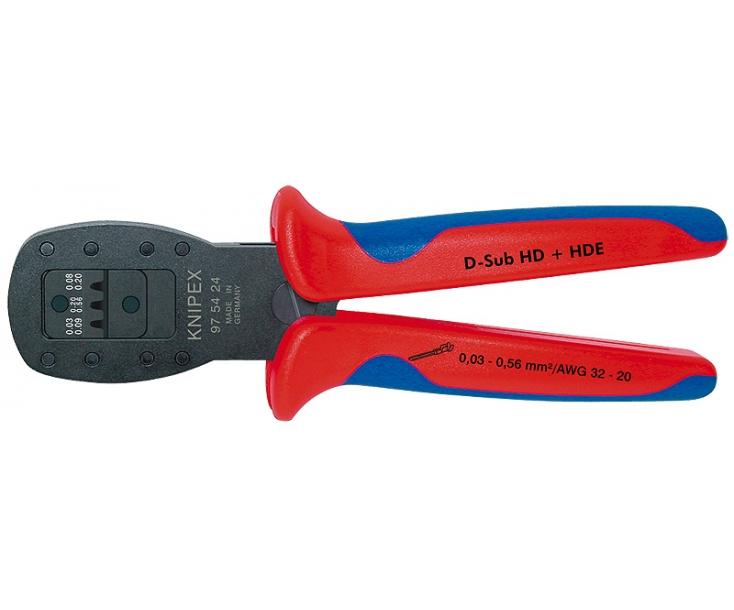 Обжимные клещи параллельного обжима для миниатюрных штекеров Knipex KN-975424