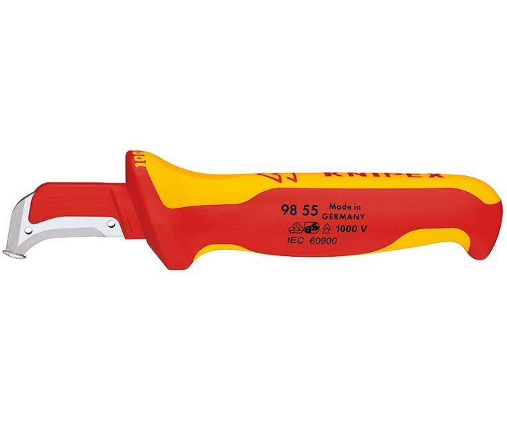 Нож для удаления изоляции VDE Knipex KN-9855