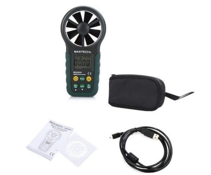 Анемометр цифровой Mastech MS6252B