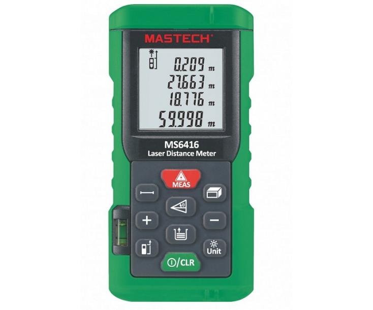 Дальномер лазерный Mastech MS6416