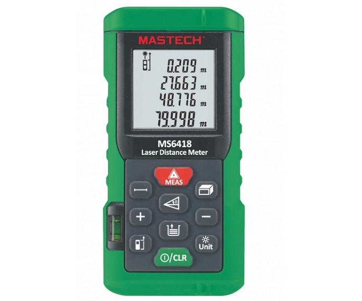 Дальномер лазерный Mastech MS6418