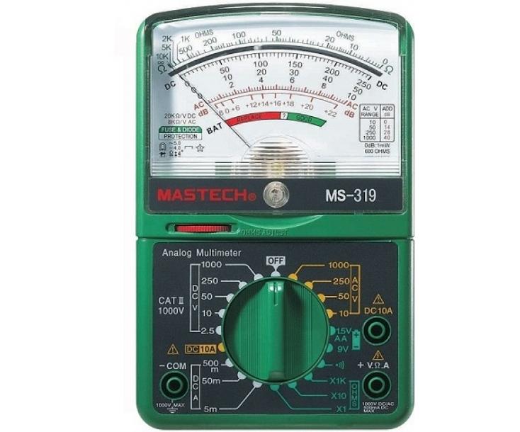 Мультиметр аналоговый Mastech MS319