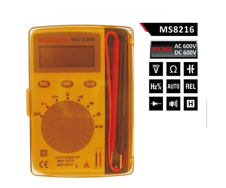 Мультиметр-книжка цифровой Mastech MS8216