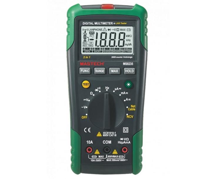 Мультиметр цифровой Mastech MS8235