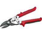 Ножницы по металлу фигурно-пробивные рычажные 250 мм NWS 067R-15-250 праворежущие