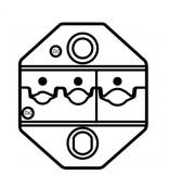 Матрица для изолированных гаечных клемм ProsKit CP-236DR