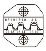Матрица для обжима неизолированных клемм ProsKit CP-3003D47