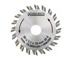 Диск с твердосплавными накладками Ø 50 мм Proxxon 28017