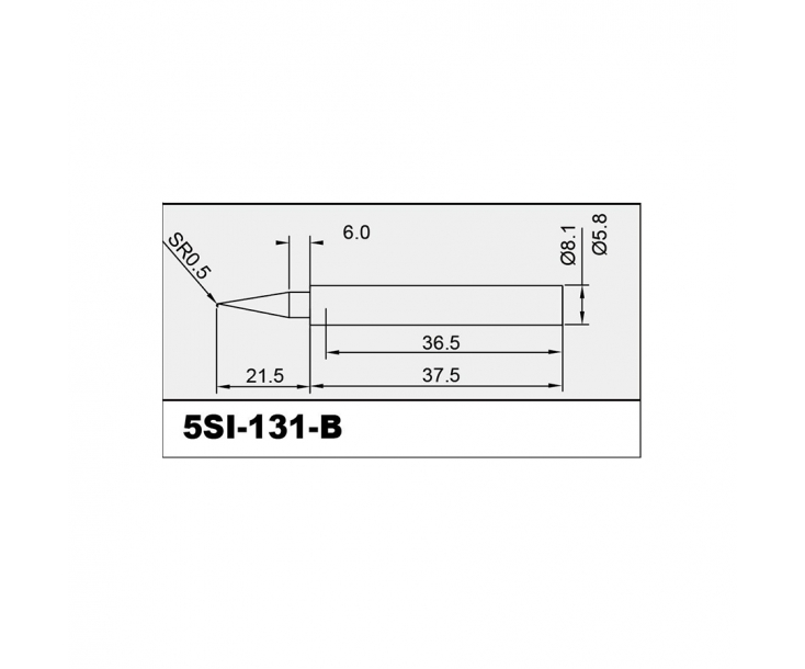 Жало острое для паяльника SI-131 Proskit 5SI-131-B