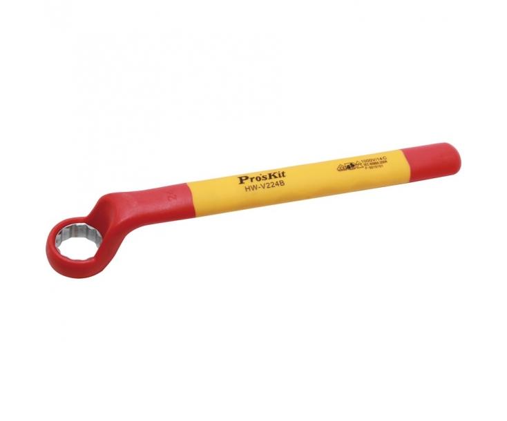 Накидной ключ изолированный ProsKit HW-V224B 24 мм