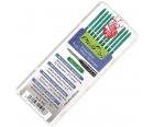 Грифели для карандаша Pica-Dry Special зеленые Pica 4042 10 пр.