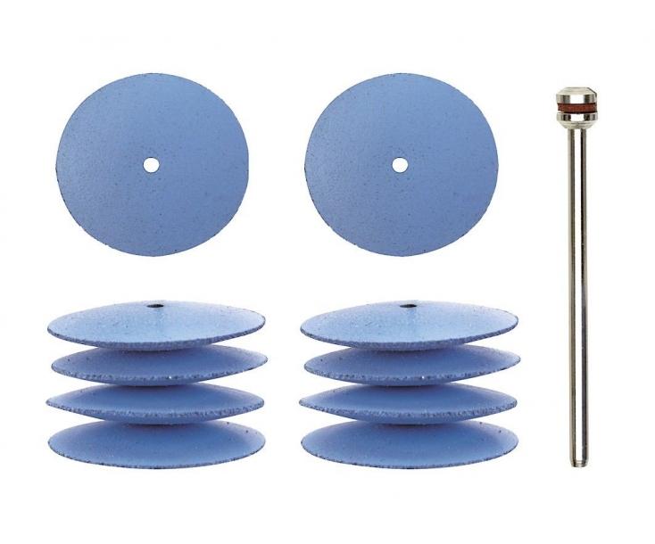 Диски силиконовые Ø 22 мм полировальные (форма линза) Proxxon 28293 10 шт.
