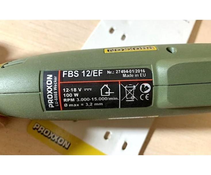 Бормашина высокоточная Proxxon FBS 12/ЕF 28462